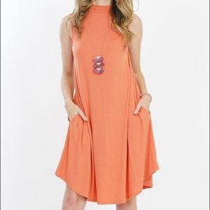 🆕 Swing Shift Dress with Pockets